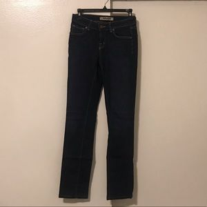 J Brand Straight Leg Jeans in dark wash